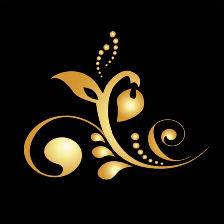 Vector golden ornament Vector