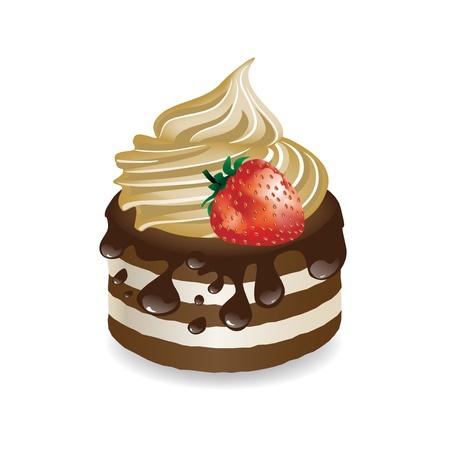 piece of cake: Vector de postre