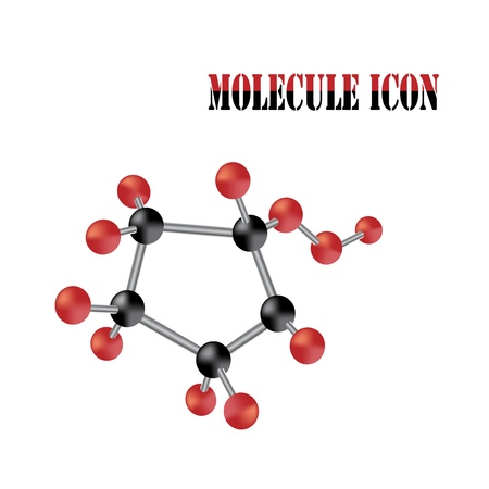 biochemistry: Vector molecule Illustration