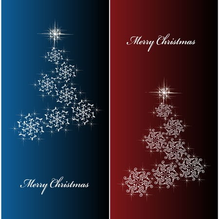 Vector Christmas cards Vector