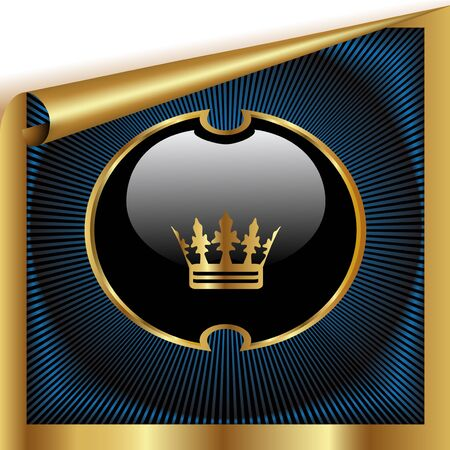 place to shine: Vector royal sheet