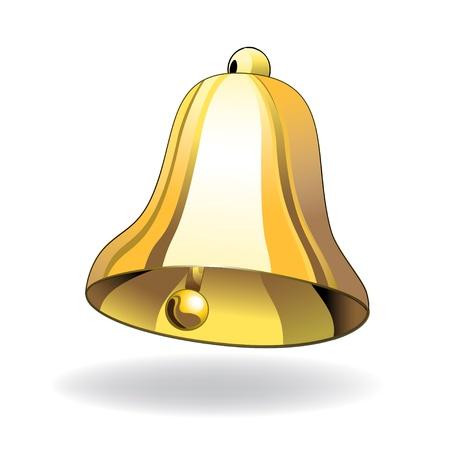 jingle bells: Vector bell
