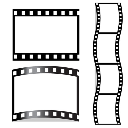 photo strip: Vector film