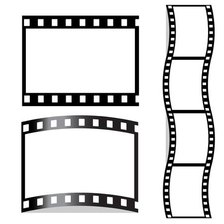 filmnegativ: Vektor-Film Illustration