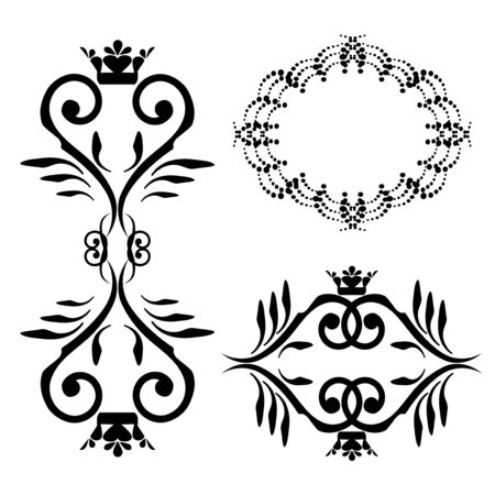 Vector ornaments Vector