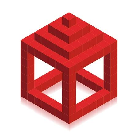Vector symbol of house Vector