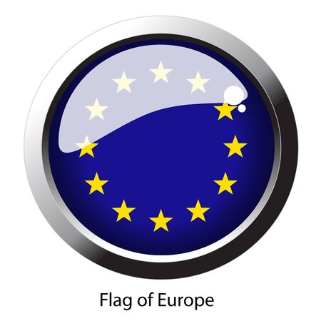 Vector flag of Europe Vector