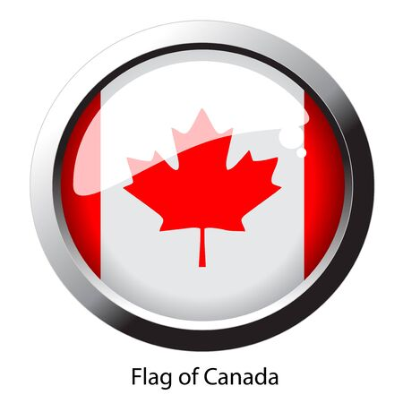 Vector flag of Canada Vector