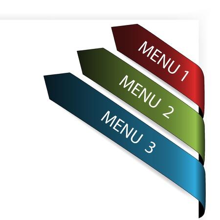 Vector navigation arrows Stock Vector - 11469870
