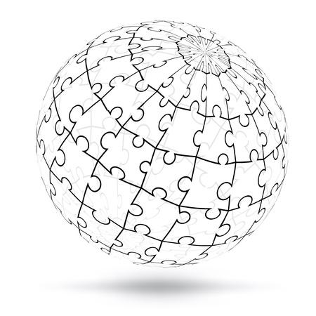 Vector globe Vector