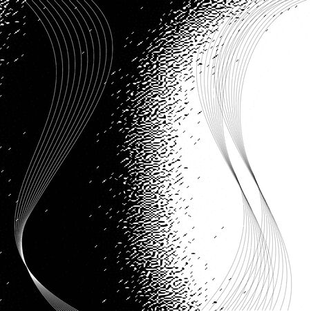 Vector black white background Vector