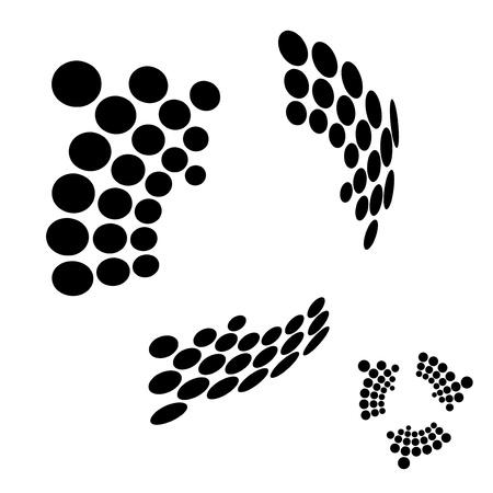 Vector 3D arrows Векторная Иллюстрация