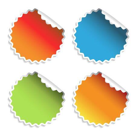 Vector stickers Stock Vector - 11470343