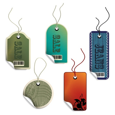 Vector sale tags Vector