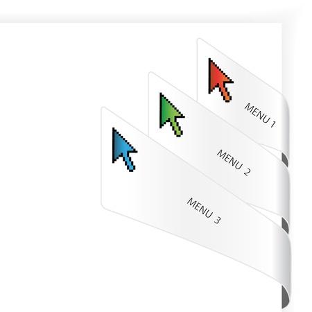 Vector navigation arrows Stock Vector - 11470171