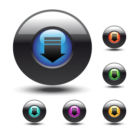Vector web buttons Vector