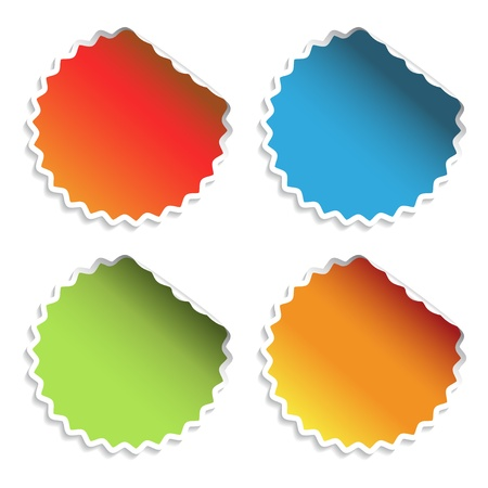Vector stickers Stock Vector - 11490833
