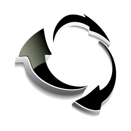 smooth curve design: Flechas vectoriales