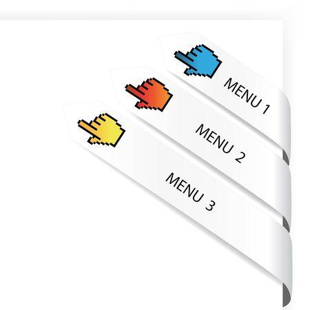 Vector navigation arrows Stock Vector - 11490595