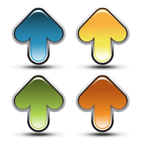 Vector arrows Illustration