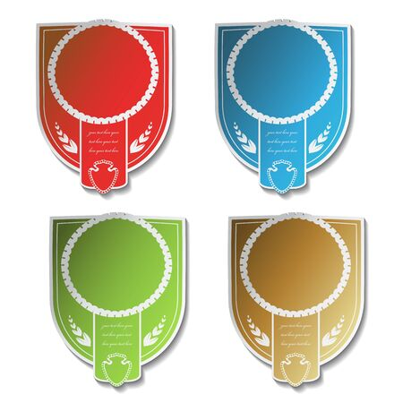 Vector labels Stock Vector - 11490928