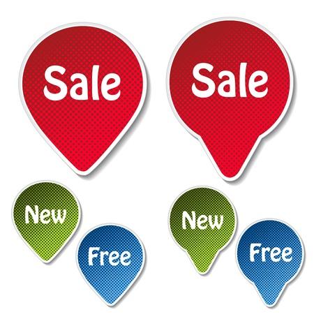 Vector sale sticker Stock Vector - 11513188