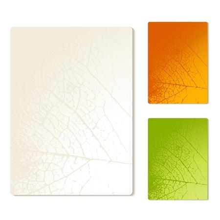 Vector papieren met de natuur textuur