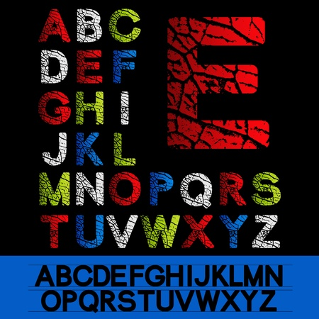 Vector alphabet Stock Vector - 11513295