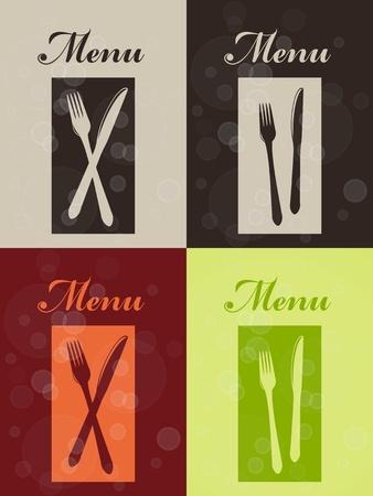 Vector set of restaurant menu  Vector