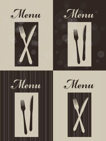Vector set of restaurant menu - EPS 10 Vector