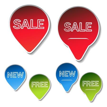 Vector sale sticker Stock Vector - 11513381
