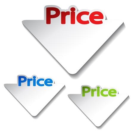 Vector price labels Stock Vector - 11513453
