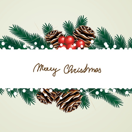 Vector Christmas card Stock Vector - 11513353