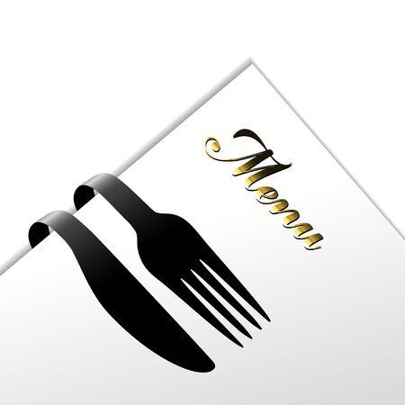 gastronomy: Vector restaurant menu