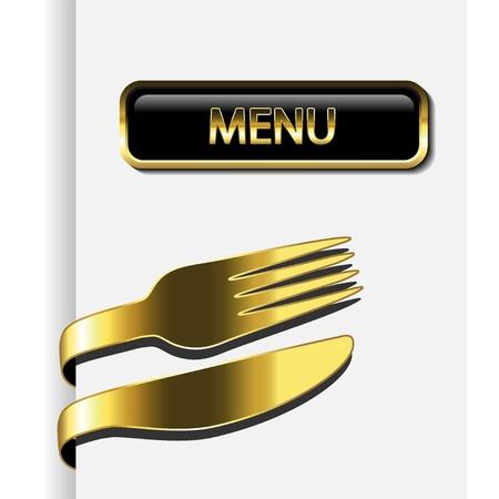 벡터 레스토랑 메뉴