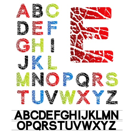 Vector alphabet Stock Vector - 11513331