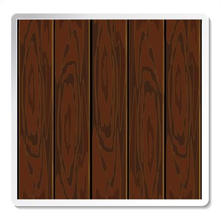 tarima madera: Vector tablero de madera para el texto de la publicidad