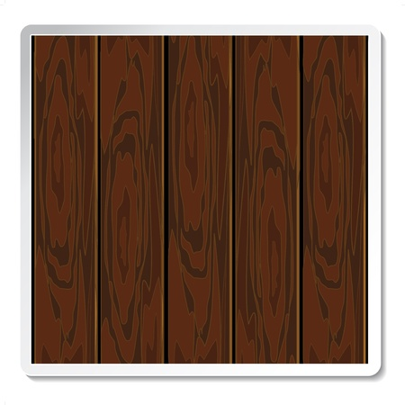 wood paneling: Vector wood board for advertising text