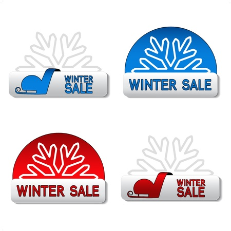 Vector winter sale board Stock Vector - 11651782