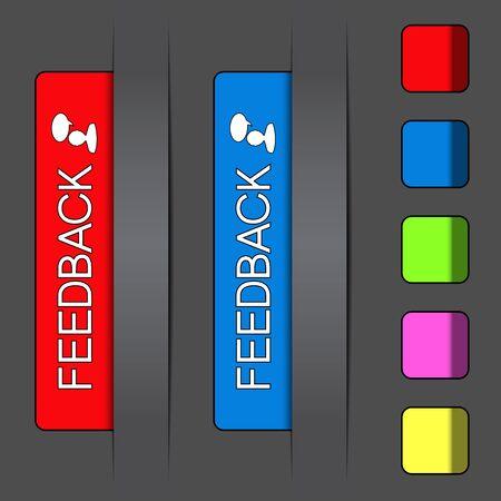 Vector feedback labels Vector