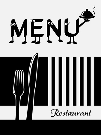 restaurant menu design - template brochure Vector