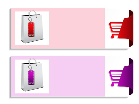 product banner - shopping offer template