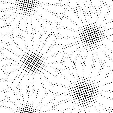 Vector flowers, seamless background, black-white floral design, nature summer texture - illustration
