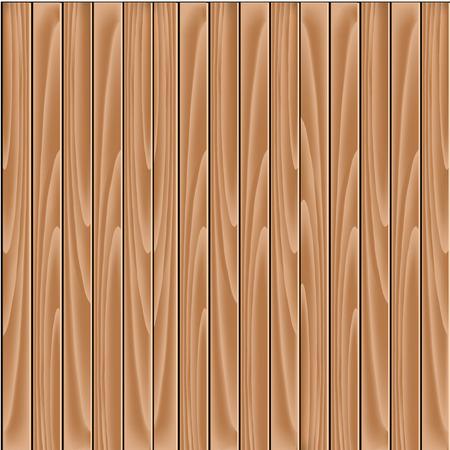 wooden: Vector brown background - wooden slat floor, planks, laths, boards wallpaper - illustration