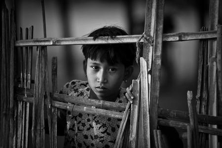 Girl in Burma, Myanmar