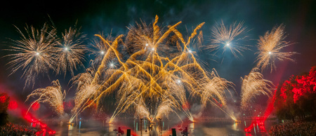 newyear: fireworks, silvester celebration