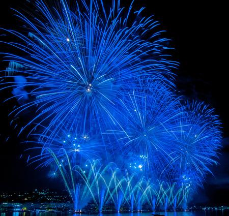 fireworks, silvester celebration