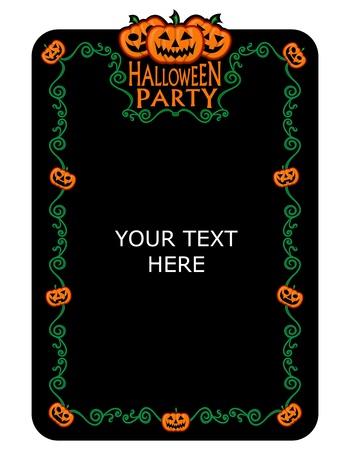 Halloween Uitnodiging van de Partij