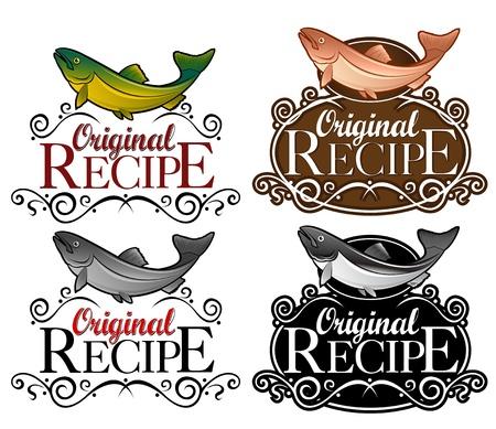 truchas: Versi�n de pescado de sello de receta original