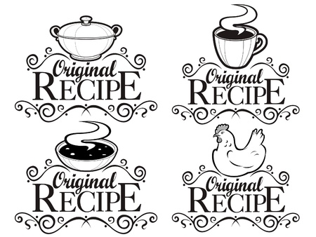Original Recipe Seals  Stock Vector - 9674519